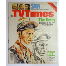TVT 1975/23 - 31 May-6 June, 1975 (Yorkshire) DERBY DAY, 1975 - with cover illustration of Lester Piggott.