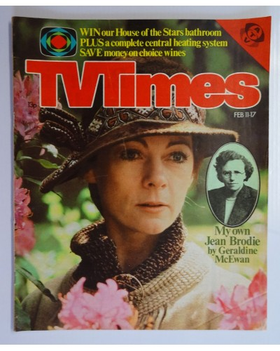 TVT 1978/07 - February 11-17, 1978 (ATV)  THE PRIME OF MISS JEAN BRODIE - with cover photo of Geraldine McEwan.