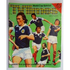 TVT 1978/22 - May 27-June 2, 1978 (ATV) WORLD CUP SPECIAL - with cover photo of footballers.