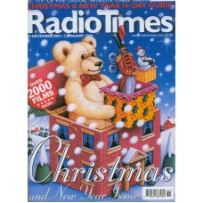 RT 4162 - 20 December 2003 - 2 January (South) CHRISTMAS NUMBER 2003 & NEW YEAR DOUBLE ISSUE with cover illustration (by James Marsh) of a teddy bear and a jack-in-the-box.