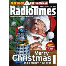RT 4469 - 19 December 2009 - 1 January (South / West & South West) CHRISTMAS NUMBER 2009 & NEW YEAR DOUBLE ISSUE with cover illustration (by Mick Brownfield) of Father Christmas holding a key - Dalek in the forground.