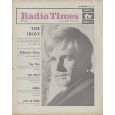 RT 2200 - January 6, 1966 (Jan 8-14) (London & South-East)  THE IDIOT (BBC-2) with cover photo of David Buck as Prince Myshkin / ZODIAC (BBC-1)