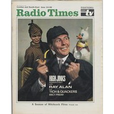 RT 2379 - June 12, 1969 (Jun 14-20) (London & South-East) HIGH JINKS (BBC1) with cover photo of Ray Allan with Tich and Quackers.