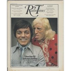 RT 2438 - 30 July 1970 (1-7 Aug) (North of England) TOP OF THE POPS (BBC1) with cover photo of Tony Blackburn and Jimmy Savile - One top DJ salutes another.