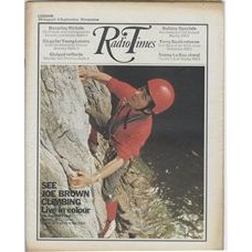 RT 2442 - 27 August 1970 (29 Aug-4 Sep) (East Anglia) AUGUST BANK HOLIDAY / THE ANGLESEY CLIMB (BBC1) with cover photo of Joe Brown.