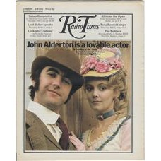 RT 2486 - 1 July 1971 (3-9 Jul) (East Anglia) TRELAWNY OF THE 'WELLS' (BBC2) with cover photo of John Alderton and Elaine Taylor.
