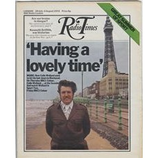 RT 2542 - 27 July 1972 (29 Jul-4 Aug) (North West) HAVING A LOVELY TIME / SPORT TWO with cover photo of Colin Welland.