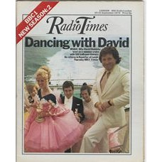 RT 2601 - 13 September 1973 (15-21 Sep) (London) REPORT AT LARGE (BBC1) with cover photo of David Dimbleby - on a cruise with 500 ballroom dancers.