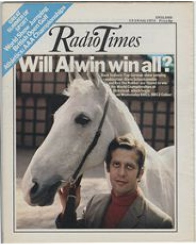 RT 2644 - 11 July 1974 (13-19 Jul) (England) INTERNATIONAL SHOWJUMPING Alwin Schockemohle and Rex the Robber.