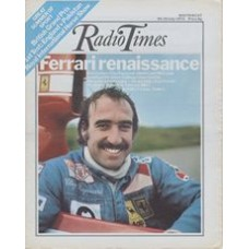 RT 2645 - 18 July 1974 (20-26 Jul) (East Anglia) WORLD CHAMPIONSHIP MOTOR RACING with cover photo of Clay Regazzoni.
