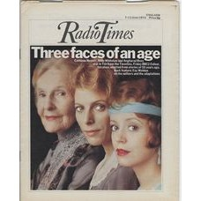 RT 2691 - 5 June 1975 (7-13 Jun) (Scotland) TEN FROM THE TWENTIES (BBC2) with cover photo of Cathleen Nesbitt, Billie Whitelaw and Angharad Rees - who star in 10 plays.