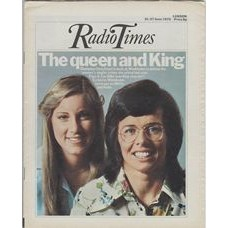 RT 2693 - 19 June 1975 (21-27 Jun) (London) WIMBLEDON with cover photo of Chris Evert and Billie Jean King.