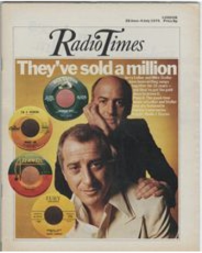 RT 2694 - 26 June 1975 (28 Jun-4 Jul) (London) INSIGHT (Radio 1) with cover photo of Jerry Leiber and Mike Stoller.
