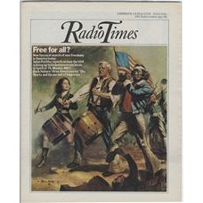 RT 2739 - 6 May 1976 (8-14 May) (London) SPIRIT OF 76  (BBC1) with cover (by John Rose) of walking musicians.