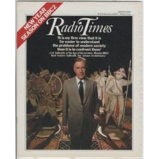 RT 2774 - 6 January 1977 (8-14 January) (East Anglia) THE AGE OF UNCERTAINTY (BBC2) with J.K. Galbraith on the cover.