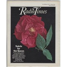 RT 2792 - 12 May 1977 (14-20 May) (London) CHELSEA FLOWER SHOW 2) with cover photo of a rose 'Royal Salute'.