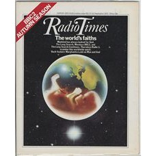 RT 2810 - 15 September 1977 (17-23 Sep) (London) THE LONG SEARCH (Radio 3) Cover design of planet Earth as a transparent womb with a foetus inside.