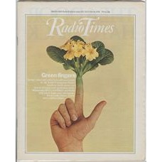 RT 2836 - 16 March 1978 (18-24 March) (London) MR SMITH PROPAGATES PLANTS with cover photo of  primroses growing out of a finger.