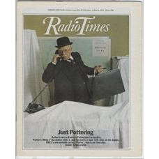 RT 2885 - 22 February 1979 (24 Feb-2 Mar) (Midlands) POTTER (BBC1) with cover photo of Arthur Lowe.
