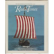 RT 2940 - 15-21 March 1980 (Scotland) VIKINGS! (BBC2) with cover photo of a sailing boat.