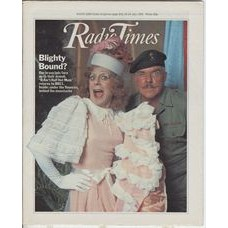 RT 3010 - 18-24 July 1981 (West) IT AIN'T HALF HOT MUM (BBC1) with cover photo of Melvyn Hayes and Windsor Davies.