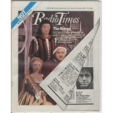 RT 3038 - 30 January-5 February 1982 NOT THE NINE O'CLOCK NEWS Griff Rhys Jones, Mel Smith as The Borgs