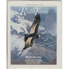 RT 3040 - 13-19 February 1982 (Scotland) THE FLIGHT OF THE CONDOR (BBC2) with cover photo of the condor in flight.