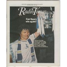 RT 3054 - 22-28 May 1982 (Wales) FA CUP FINAL - QPR v Spurs - with cover photo of Steve Perryman. Can Spurs win again?