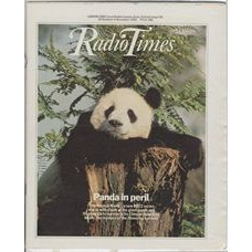 RT 3129 - 29 October-4 November 1983 (West) THE NATURAL WORLD (BBC2 new series) Photo of a giant panda.