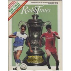 RT 3259 - 10-16 May 1986 (South) GRANDSTAND FA CUP FINAL Everton v Liverpool.