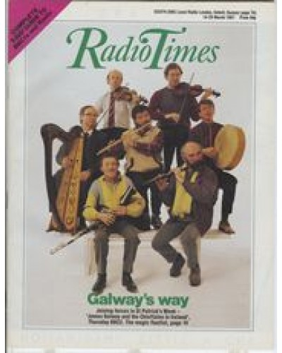 RT 3303 - 14-20 March 1987 (London) St Patrick's Week JAMES GALWAY AND THE CHIEFTAINS IN IRELAND (BBC2)