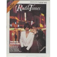 RT 3370 - 2-8 July 1988 (Midlands) DEF II's ROUGH GUIDE TO EUROPE (BBC2) with cover photo of Magenta De Vine and Sankha Guha.