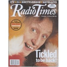 RT 3655 - 29 January-4 February 1994 (South) KEN DODD'S COMEDY CLUB (Radio 2) with cover photo of Doddy