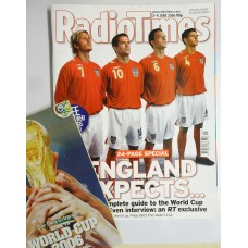 RT 4287 - 3-9 June 2006 (South / West & SouthWest)   WORLD CUP with cover photo of David Beckham, Michael Owen, John Terry and Steven Gerrard.