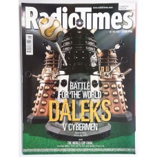 RT 4292 - 8-14 July 2006 [1 of 2 collector's covers] (London/Anglia) DOCTOR WHO Battle for the World (BBC1) Daleks v Cybermen- with cover picture of DALEKS. // WORLD CUP FINAL