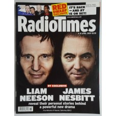 RT 4432 - 4-10 April 2009 (South / West & South West) FIVE MINUTES OF HEAVEN (BBC2) Liam Neeson and James Nesbitt