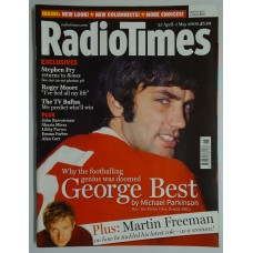 RT 4435 - 25 April - 5 June 2009 (South / West & South West) BEST - HIS MOTHER'S SON - with cover photo of George Best.