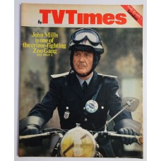 TVT 1974/14 - March 30 - April 5, 1974 (London) THE ZOO GANG - with cover photo of John Mills.