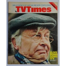 TVT 1974/18 - April 27-May 3, 1974 (London) MY OLD MAN - with cover photo of  Clive Dunn.