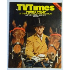 TVT 1974/19 - May 4-10, 1974 (London) Show Jumping THE ROYAL WINDSOR HORSE SHOW - with cover photo of Prince Philip driving horses.
