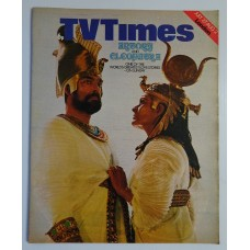 TVT 1974/31 - July 27-August 2, 1974 (London) ANTONY AND CLEOPATRA - with cover photo of Richard Johnson and Janet Suzman.