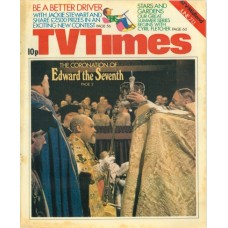 TVT 1975/24 - June 7-13, 1975 (ATV/Midland) EDWARD THE SEVENTH -  with cover photo of Timothy West.