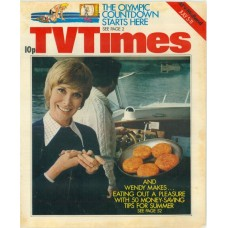 TVT 1975/28 - July 5-11, 1975 (ATV/Midland) AND MOTHER MAKES FIVE with cover photo of Wendy Craig.