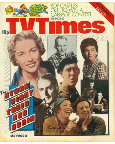 TVT 1975/29 - July 12-18 1975 (ATV/Midland) THE DAY WAR BROKE OUT - with cover montage of Vera Lynn, Bing Crosby, Margaret Lockwood, Jack Warner, Tommy Trinder, Richard Murdoch, Arthur Askey, and Elsie and Doris Waters