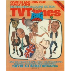 TVT 1975/41    October 4-10, 1975 (ATV/Midland) RULE BRITANNIA - with cover illustration of caricatures of Tony Melody, Joe Lynch, Russell Hunter and Richard Davies.