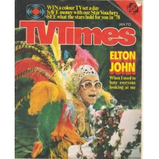 TVT 1978/02 - January 7-13, 1978 (ATV) THE MUPPET SHOW - with cover photo of Elton John.