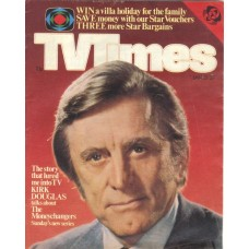 TVT 1978/04 - January 21-27, 1978 (ATV) THE MONEYCHANGERS - with cover photo of Kirk Douglas.