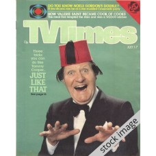 TVT 1978/27 - July 1-7, 1978 (London - Thames/LWT) LONDON NIGHT OUT - with cover photo of Tommy Cooper.