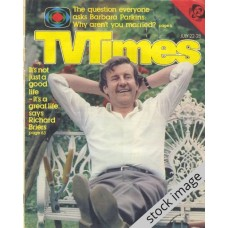 TVT 1978/30 - July 22-28, 1978 (London - Thames/LWT) JUST BETWEEN OURSELVES - with cover photo of Richard Briers.