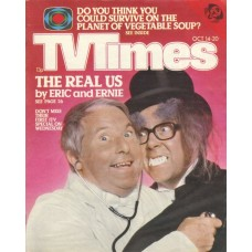 TVT 1978/42 - October 14-20, 1978 (ATV) MORECAMBE & WISE - with cover photo of Eric & Ernie.